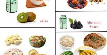 1800 Calorie Diabetic Diet Plan – Thursday