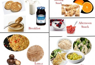 1600 Calorie Diabetic Diet Plan - Saturday