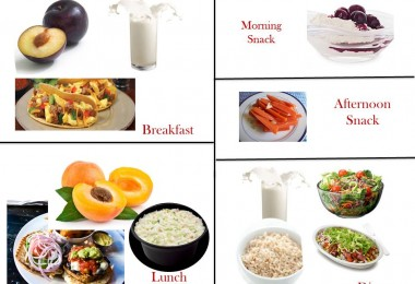 1400 Calorie Diabetic Meal Plan - Sunday