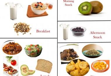 1400 Calorie Diabetic Meal Plan - Thursday