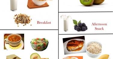 1200 Calorie Diabetic Diet Plan – Thursday