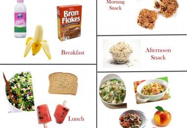 1400 Calorie Diabetic Meal Plan –Tuesday