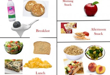 1400 Calorie Diabetic Meal Plan -Wednesday