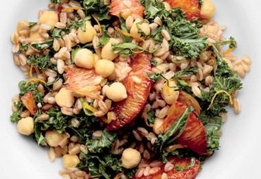 Cooked Farro With Vinegar
