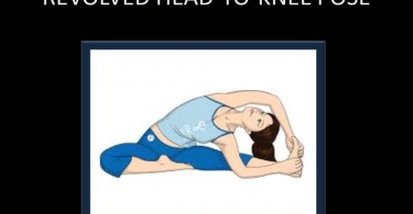 Revolved Head –To-Knee Pose