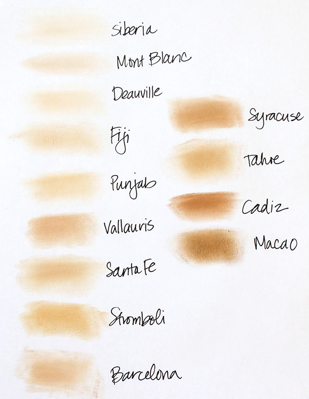 NARS-All-Day-Luminous-Powder-Foundation-Swatches