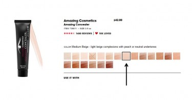 Medium Beige Amazing Concealer