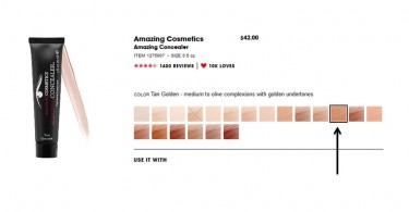 Tan Golden Amazing Concealer