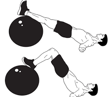 Crunches, Hamstring Curls And Bottom Raise