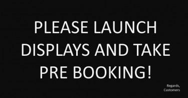 Online pre booking