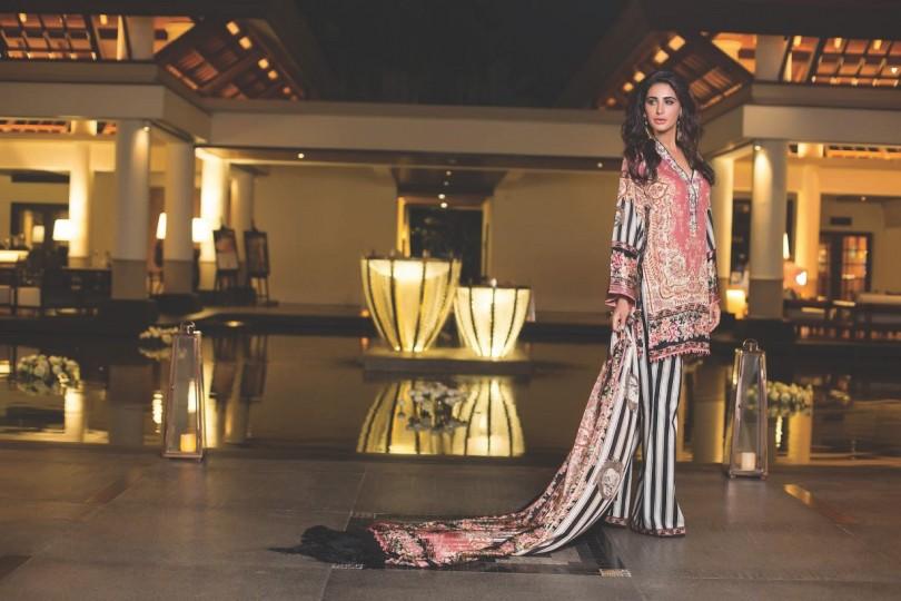 Shehla Chatoor Luxury Lawn 2016 by Shariq Textiles (34)