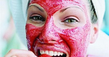 Strawberry Face Masks