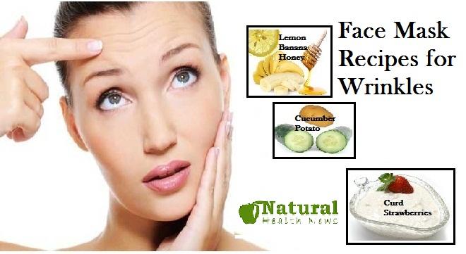 Face Mask Recipes for Wrinkles