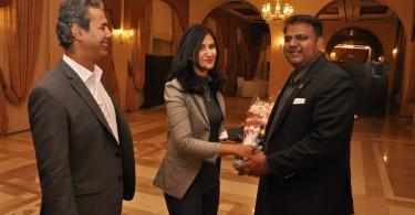 Fawad Chaudhary - Minister of Science & Technology & Farheen Fatima Social Media Producer Arab News