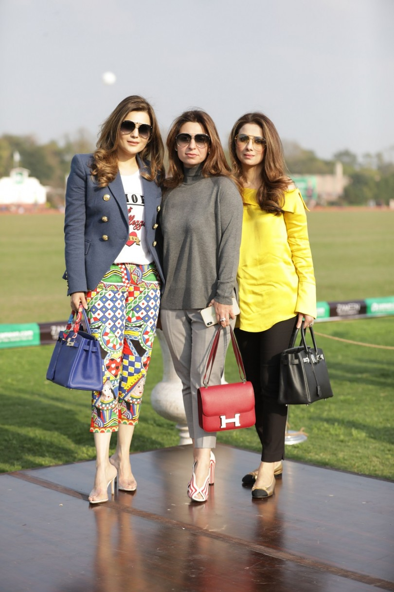 Marriam Khokhar, Taiba Malik, Tamania Kamal